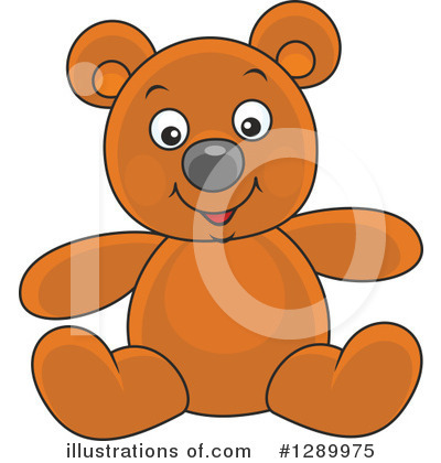 Bear Clipart #1289975 by Alex Bannykh