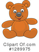 Royalty-Free (RF) Teddy Bear Clipart Illustration #1289975