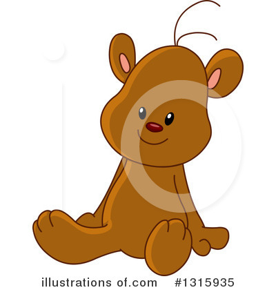 Teddy Bear Clipart #1315935 by yayayoyo