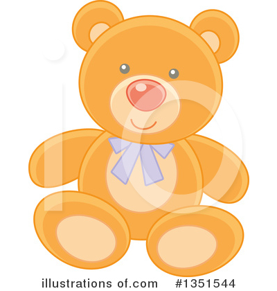 Bear Clipart #1351544 by Alex Bannykh