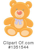 Royalty-Free (RF) Teddy Bear Clipart Illustration #1351544