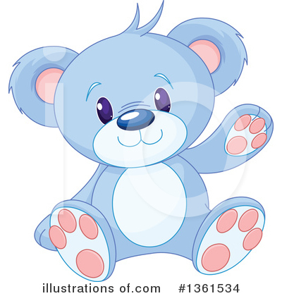 Teddy Bear Clipart #1361534 by Pushkin