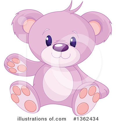 Teddy Bear Clipart #1362434 by Pushkin