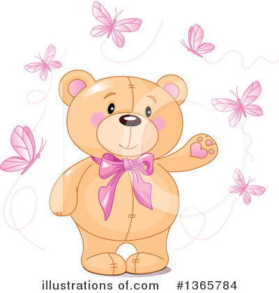 Teddy Bear Clipart #1365784 by Pushkin