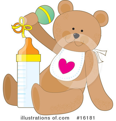 Teddy Bear Clipart #16181 by Maria Bell