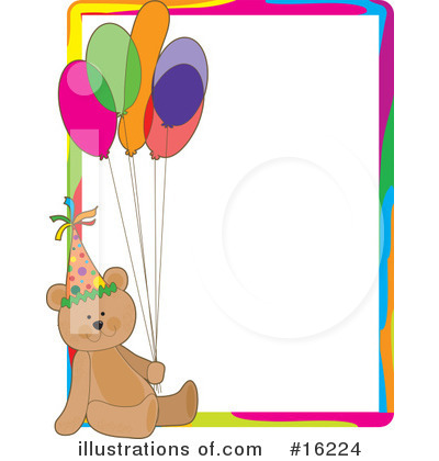 Teddy Bear Clipart #16224 by Maria Bell