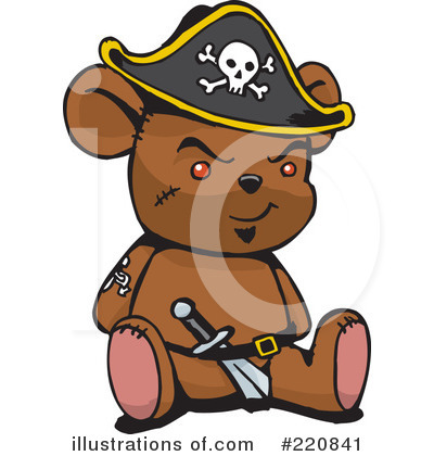Bear Clipart #220841 by Dennis Holmes Designs
