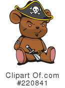 Royalty-Free (RF) Teddy Bear Clipart Illustration #220841