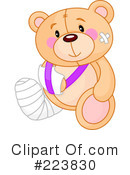 Teddy Bear Clipart #223830 by Pushkin