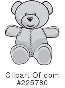 Teddy Bear Clipart #225780 by David Rey