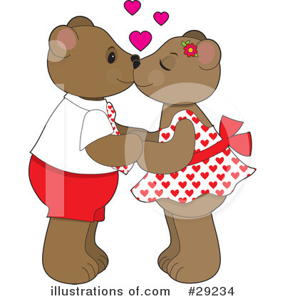 Teddy Bear Clipart #29234 by Maria Bell