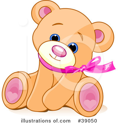 Teddy Bear Clipart #39050 by Pushkin
