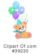Teddy Bear Clipart #39230 by Pushkin