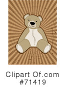 Teddy Bear Clipart #71419 by mheld