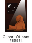 Royalty-Free (RF) Teddy Bear Clipart Illustration #85981