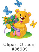 Teddy Bear Clipart #86939 by Pushkin