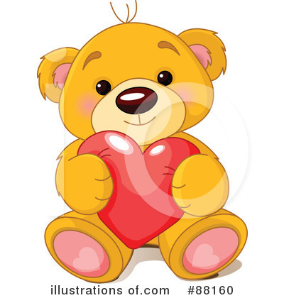 Teddy Bear Clipart #88160 by Pushkin