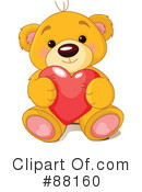 Royalty-Free (RF) teddy bear Clipart Illustration #88160