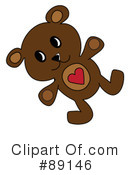 Teddy Bear Clipart #89146 by Pams Clipart