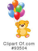 Teddy Bear Clipart #93504 by Pushkin