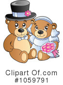 Royalty-Free (RF) teddy bears Clipart Illustration #1059791
