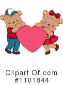 Royalty-Free (RF) Teddy Bears Clipart Illustration #1101844