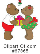 Royalty-Free (RF) Teddy Bears Clipart Illustration #67865