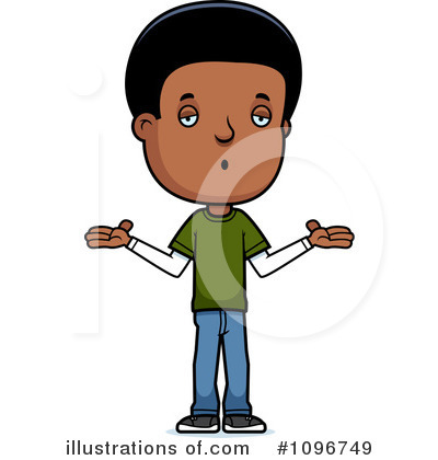 Teenager Clipart #1096749 by Cory Thoman