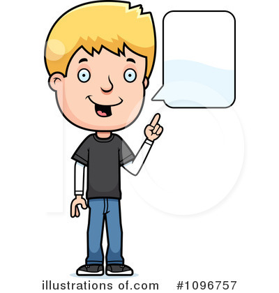 Teenager Clipart #1096757 by Cory Thoman