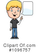 Royalty-Free (RF) teen boy Clipart Illustration #1096757