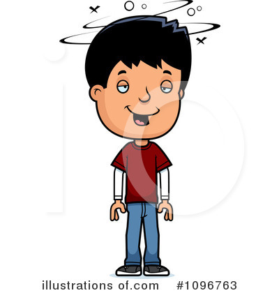 Teenager Clipart #1096763 by Cory Thoman