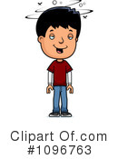 Royalty-Free (RF) teen boy Clipart Illustration #1096763