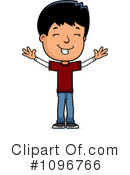 Teen Boy Clipart #1096766 by Cory Thoman