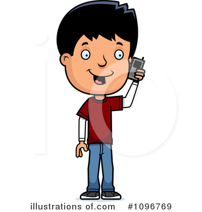 Teenager Clipart #1096769 by Cory Thoman