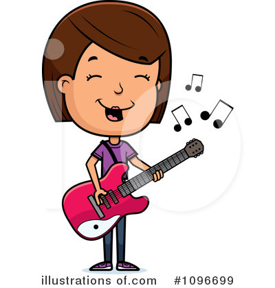 Royalty-Free (RF) Teen Girl Clipart Illustration by Cory Thoman - Stock Sample #1096699