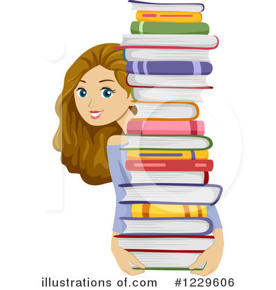 Book Clipart #1229606 by BNP Design Studio