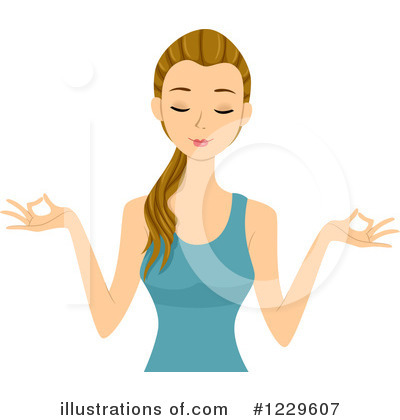 Yoga Clipart #1229607 by BNP Design Studio