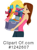 Royalty-Free (RF) Teen Girl Clipart Illustration #1242607