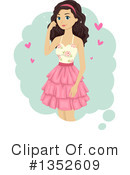 Teen Girl Clipart #1352609 by BNP Design Studio
