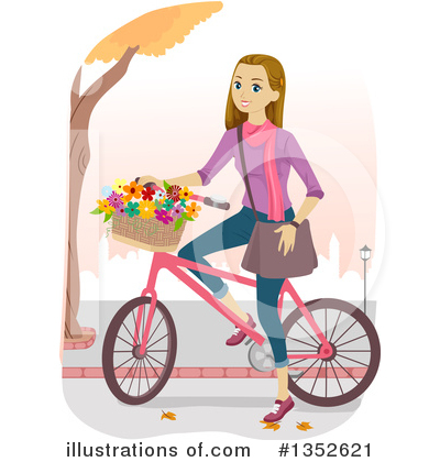 Bicycle Clipart #1352621 by BNP Design Studio