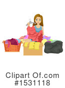 Teen Girl Clipart #1531118 by BNP Design Studio