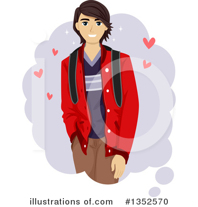 Daydreaming Clipart #1352570 by BNP Design Studio