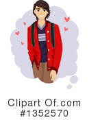 Teenage Boy Clipart #1352570 by BNP Design Studio