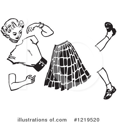 Royalty-Free (RF) Teenager Clipart Illustration by Picsburg - Stock Sample #1219520