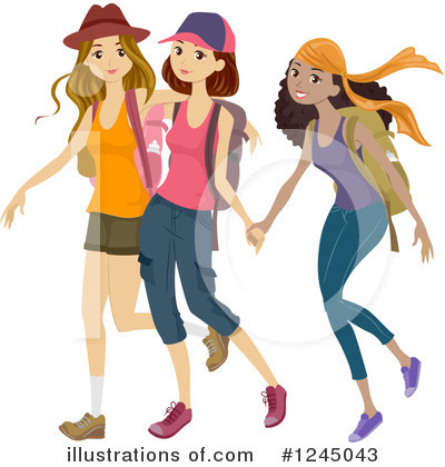 Royalty-Free (RF) Teenager Clipart Illustration by BNP Design Studio - Stock Sample #1245043
