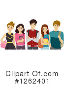 Teenager Clipart #1262401 by BNP Design Studio