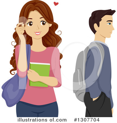 Teenager Clipart #1307704 by BNP Design Studio