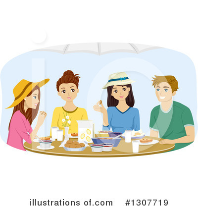 Dining Clipart #1307719 by BNP Design Studio