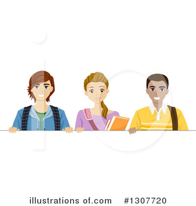 Royalty-Free (RF) Teenager Clipart Illustration by BNP Design Studio - Stock Sample #1307720