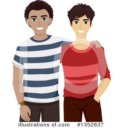 Royalty-Free (RF) Teenager Clipart Illustration by BNP Design Studio - Stock Sample #1352637